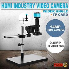 14MP Video Mikroskop Set mit Boom Steht Genau Digital Mikroskop Industrie NEWEST