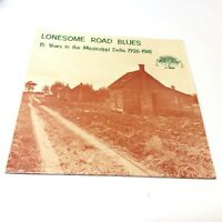 Rare 'Lonesome Road Blues' Yazoo 1974 Red Labels Vinyl LP IN SHRINK EX+/EX+