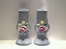 2 x Vintage East German Bud Vases