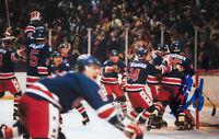1980 USA Steve Christoff OLYMPIC GOLD HOCKEY SIGNED 4x6 PHOTO AUTORGRAPHED