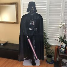 Darth Vader Star Wars Movie Life Size Cardboard Display 1996 Promotional Cutout