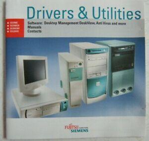Vintage fujitsu Siemens Drivers utilities Scenic Scenico Scovery Celsius PC Comp
