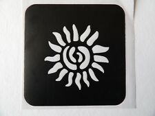HENNA TATTOO STENCIL 90mm x 90mm