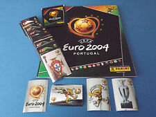 Panini Euro 2004 complete sticker set (1-334) + empty album 04