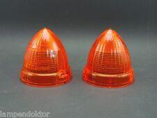 MERCEDES W111 W112 > BLINKERKAPPE US BLINKER amber turn signal lens SAE DP62