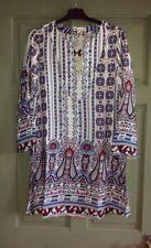BNWT Womens Dress Kaftan Cover Up Paisley Glam Ibiza Boho Hippie 12 £30