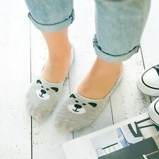 Hot Women Shallow Loafer Boat Thin Invisible No Show Liner Low Cut Cotton Socks