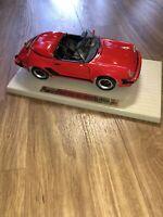 Vintage Porsche 911 Speedster 1989 Diecast Maisto