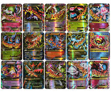 Pokemon 60 Card Holo Flash 25 Gx Cards Sm Sun Moon +35 Ex Mega Charizard For Kid