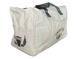 Paco Rabanne Duffle Weekend Canvas Travel Bag in Grey
