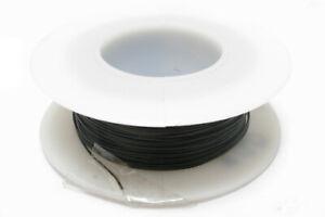 Kynar Wire Wrap Wire, 30AWG, 100ft Black