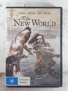 New World (DVD, 2006) Colin Farrell, Christian Bale