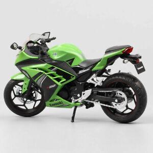 Scale1/12 Automaxx Kawasaki Ninja 300 250r Se Bike Diecast Model Motorcycle Toy