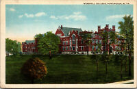 Vtg 1920s Marshall College Huntington West Virginia WV Postcard