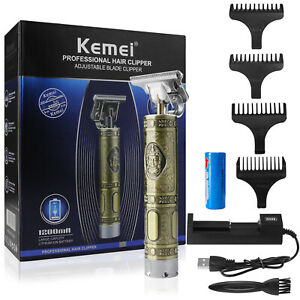 Kemei Professional Hair Clippers Electric Cordless Trimmer Shaver Cutting Barber