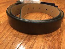 Cole Haan 32mm Veg leather Rounded Beveled Edge Belt