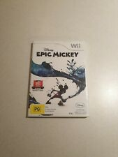 New listing Epic Mickey Nintendo Wii Game Complete with Manual (PAL)