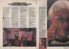 Coupure de presse Clipping 1982 Jacques Henri Lartigue  (2 pages)