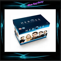 HEROES - COMPLETE SERIES SEASONS 1 2 3 & 4 *BRAND NEW BLURAY BOXSET* REGION FREE