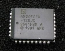 AMD AM29F010-120JC 1M (128Kx8-Bit) 5V Flash Memory, PLCC-32, Qty.2