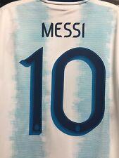 adidas Argentina National Team Home Soccer Jersey Mens Sz Small Dn6716