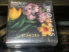 SEPHORA Compact Mirror STILL LIFE ALCHEMY Floral Design Brand New In Box RARE