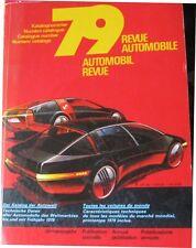 * Automobil-Revue  Katalog 1979  -  Catalogue Revue Automobile *