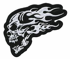 TRIBAL SKULL embroidered BIKER PATCH