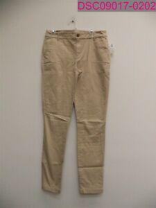 Old Navy Mid-Rise Skinny Everyday Khakis Pants Women's Size 10 Tall Beige