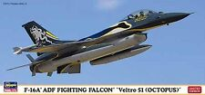 Hasegawa 1/72 F-16A ADF Fighting Falcon Veltro 51 Octopus Tactical Fighter 1997