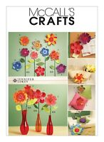 McCall's Crafts M5869 Dimensional Flowers Uncut Sewing Pattern