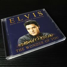 Elvis Presley - The Royal Philharmonic Orchestra: The Wonder Of You USA CD #A03