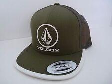 NEW VOLCOM for BOYS TRUCKER BEACON CHEESE OLD BLACKBOARD SNAPBACK HAT CAP VL36