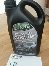 Evans Classic Cool 180° Waterless Engine Coolant for Classic Cars - 5L Free Post
