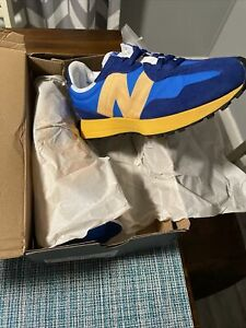 New Balance 327 Aspen Blue Yellow Size 9 Men  MS327CLB SNEAKERS VERY LIMITED