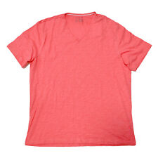 Inc International Concepts Mens T-shirt V-neck Top Faded Red Tee Xl Nwot No Tags