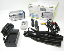 JVC Everio GZ-MG330HU HDD Hard Disk Camcorder 30GB w/Box & Accessories TESTED