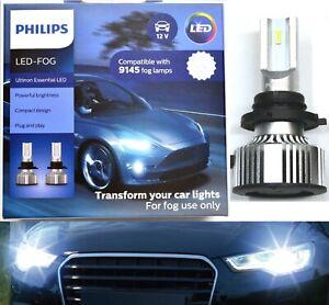 Philips Ultinon LED 40W 6500K White H10 Two Bulbs Fog Light Replace Stock Lamp