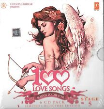100 LOVE SONGS STAGE 5 - BRAND NEW 6CDs BOLLYWOOD COMPILATION SET