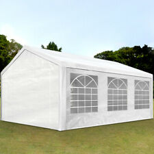 TOOLPORT  4x6 m Steel Frame Waterproof  Party Marquee - White
