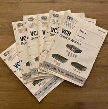 NAP VCR Service Manual 5692: For Magnavox, Sylvania, Philco/Philips Models
