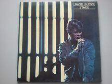 David Bowie-etapa de vinilo 2x Lp Reino Unido 1st Press A1/B1/C1/D1 ex +/ex +