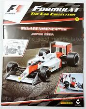 Formula 1 Car Collection Magazine Issue 1 - F1 McLaren MP 4/4 1988 AYRTON SENNA