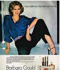 Publicité Advertising 1978 Cosmétique maquillage Barbara Gould