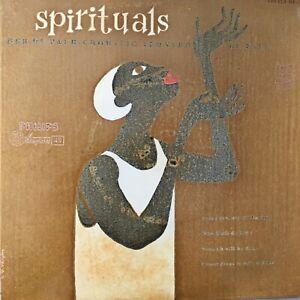 DE PAUR-CHOR: Spirituals (EP Philips 429178 BE)