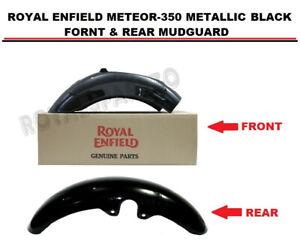 "ROYAL ENFIELD ""METEOR-350 METALLIC BLACK FRONT & REAR MUDGUARD"""