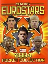 leeres Album EUROSTARS 2004 Pocket Merlin