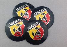 OX56 4X Fit ABARTH Scorption WHEEL CAP Alloy EMBLEM Badge Stickers 56mm NEW 3D