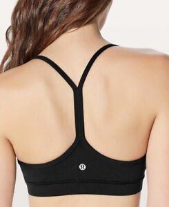 Lululemon Flow Y Bra *nulu.  Size 6.  Black