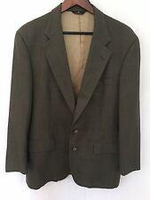 VTG Polo University Ralph Lauren Blazer Suit Sport Coat Wool 42R Plaid USA